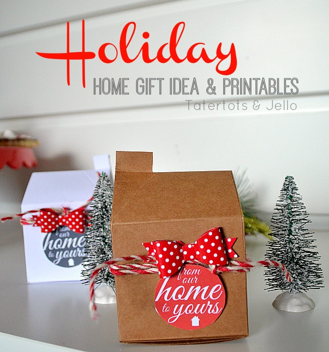 holiday home gift idea and free printables