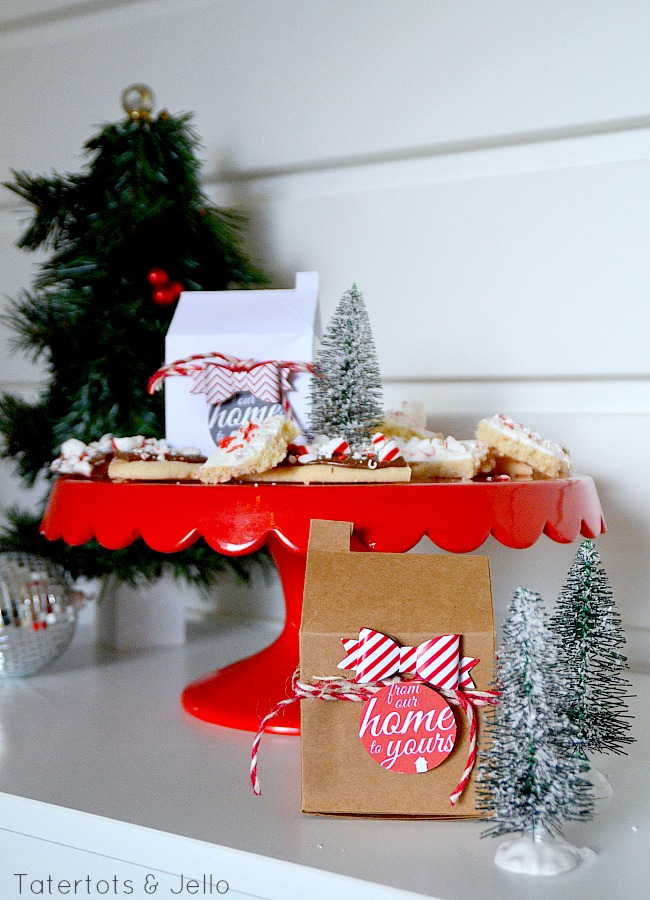 neighbor gift idea and free printables at tatertots and jello