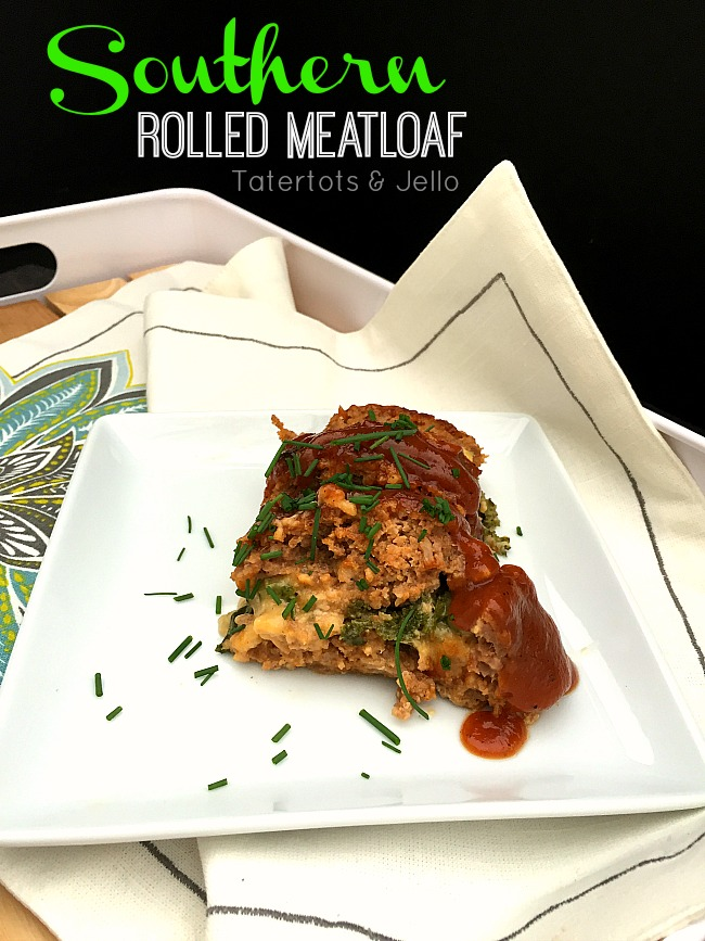 southern rolled meatloaf recipe at tatertots and jello