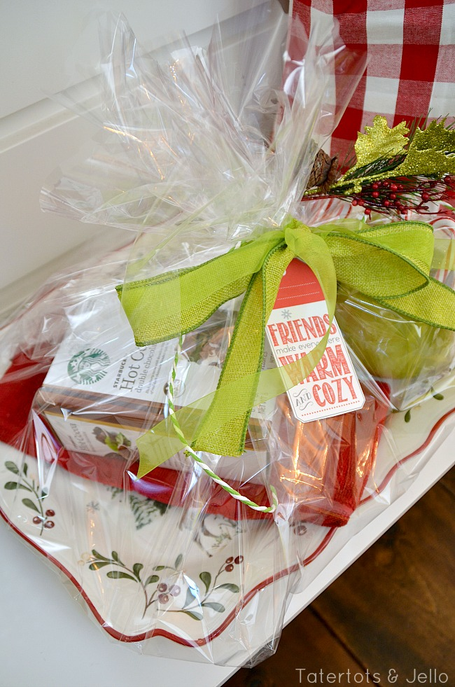 warm and cozy hostess gift for under $20