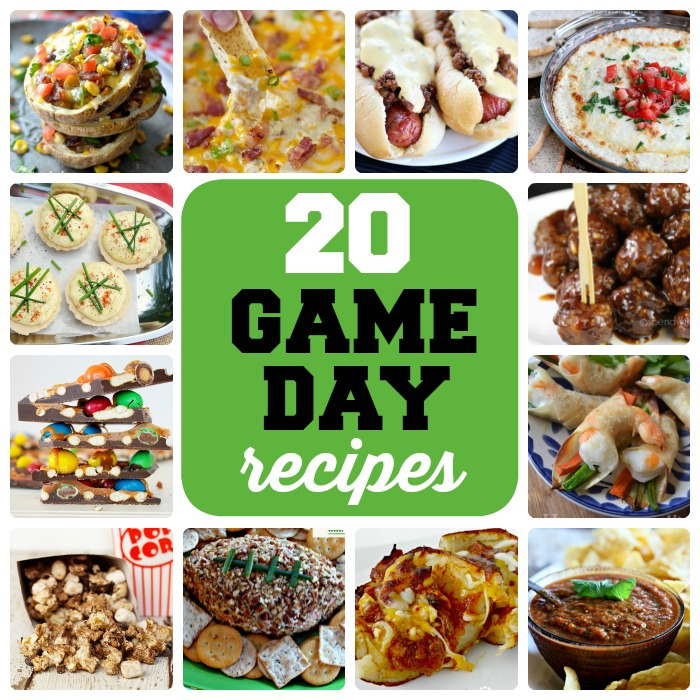 20 delicious game day recipes
