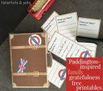 "Paddington-Inspired Family ""Gratefulness"" Free Printables!"