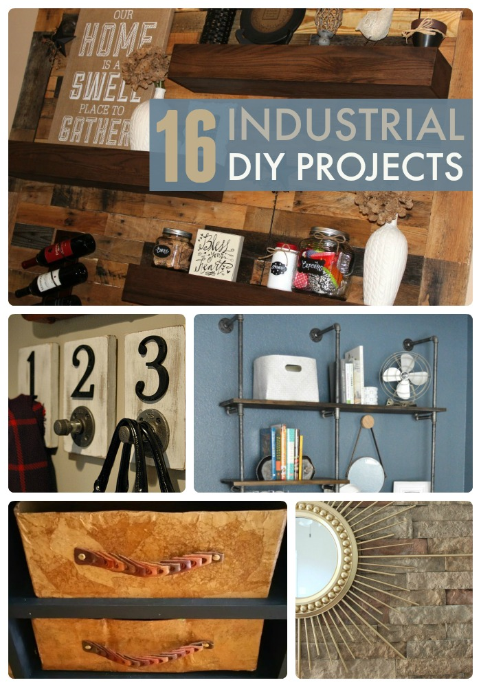 Great Ideas  16 Industrial DIY Projects!