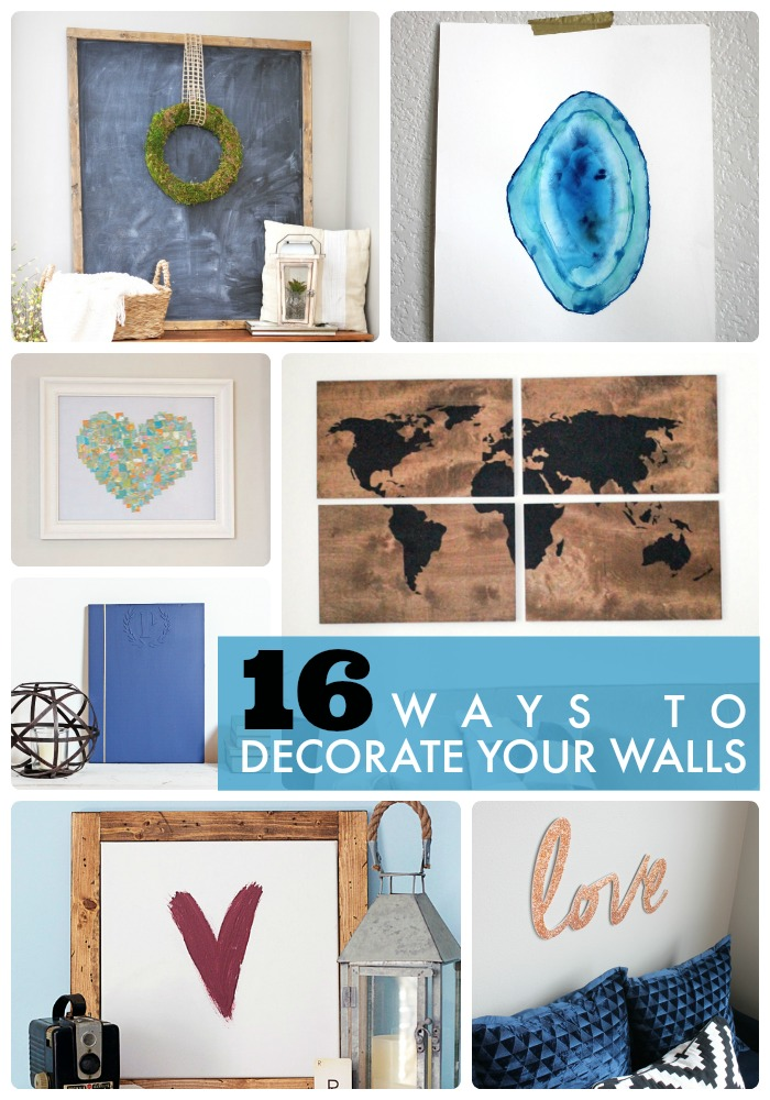 Great ideas 16 ways to decorate your walls - Ways to decorate your walls ...