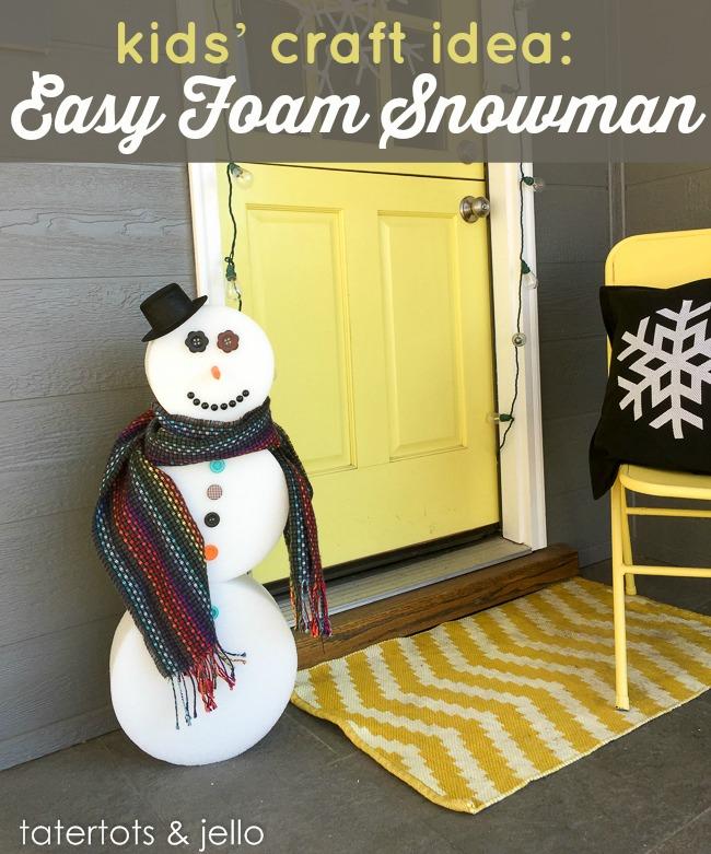 Easy Snowman DIY