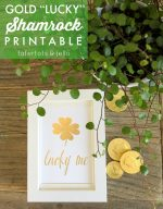 Gold Lucky St. Patrick's Day Printable