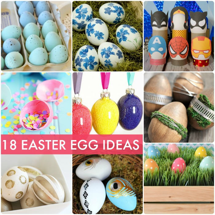 18 Spring Decor Ideas: Great Ideas -- 18 Easter Egg Projects