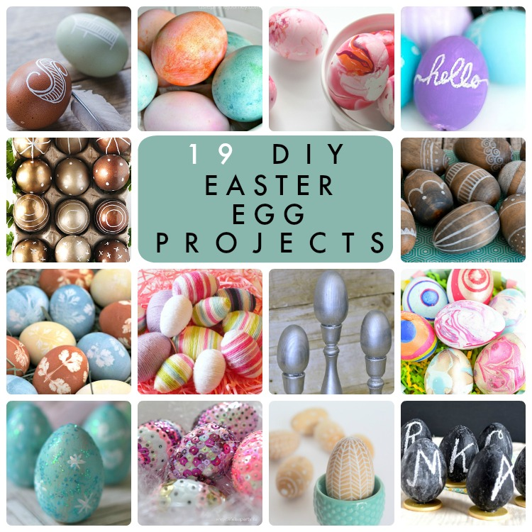 Great Ideas -- 19 DIY Easter Egg Projects Part Two! |Easter Diy Projects Pinterest