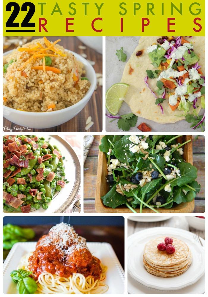 22 spring recipes