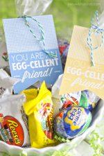 """Free """"Egg-Cellent"""" Easter Printables"""