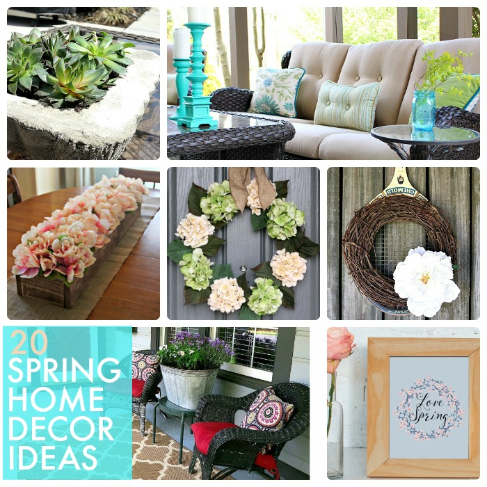 Great ideas 20 spring home decor ideas for Great home decor