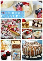 Great Ideas — 20 Delicious Desserts!