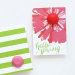 EOS Spring Lip Balm Card and Printable!