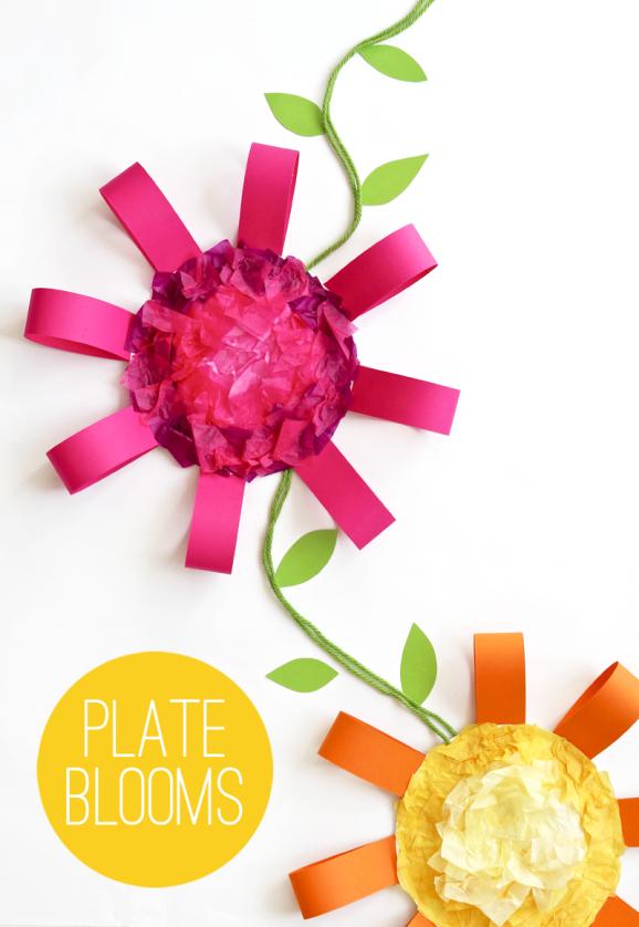 Paper-Plate-Flower-Craft-578x838