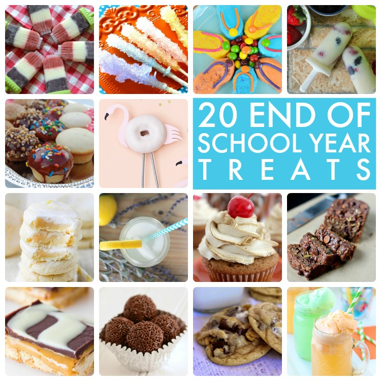 Great ideas 20 end of school year treats