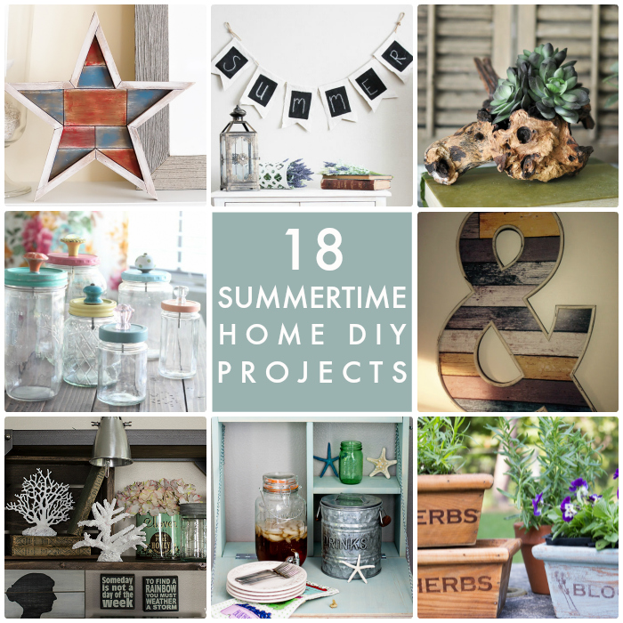 18 Summertime Home DIY Projects