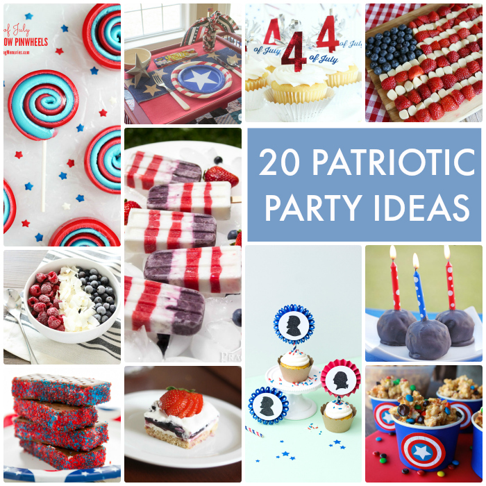 20 Patriotic Party Ideas