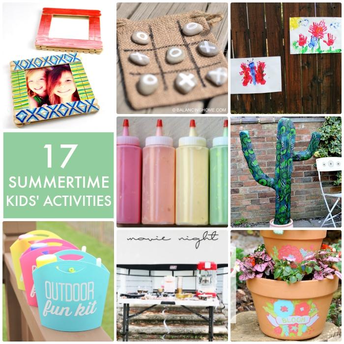 17 summertime kids activities