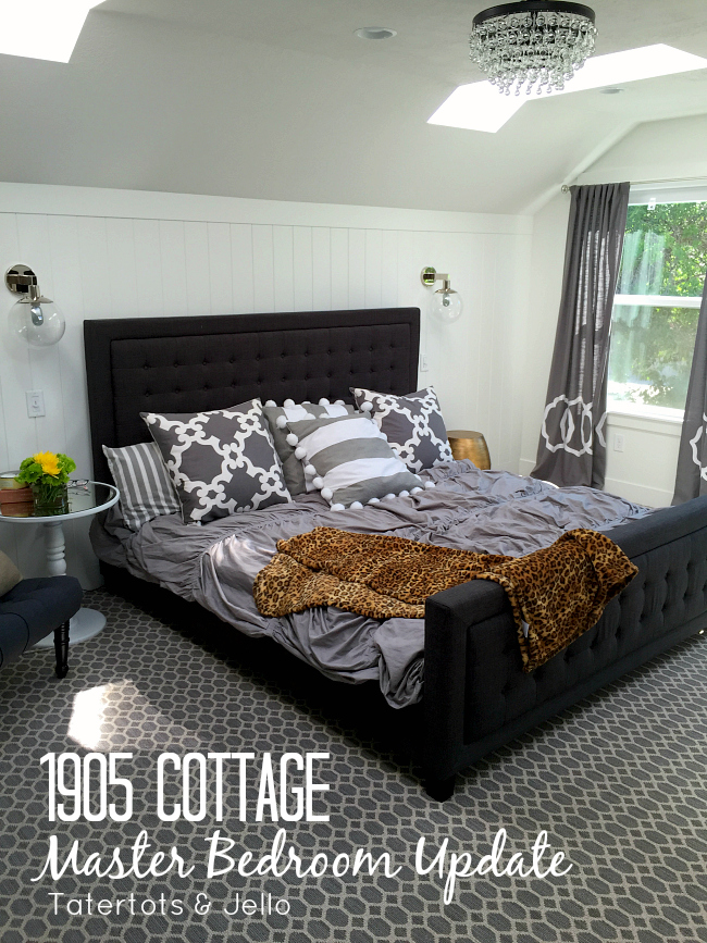 1905 Cottage Master Bedroom Update And Yogabed Review Tatertots And Jello