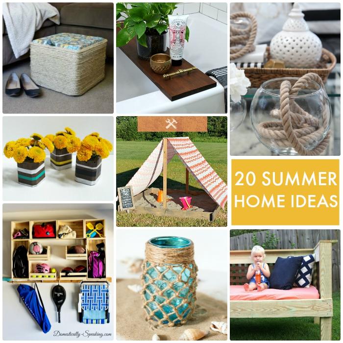 20 Summer Home Ideas