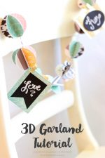 3D Paper Garland Tutorial