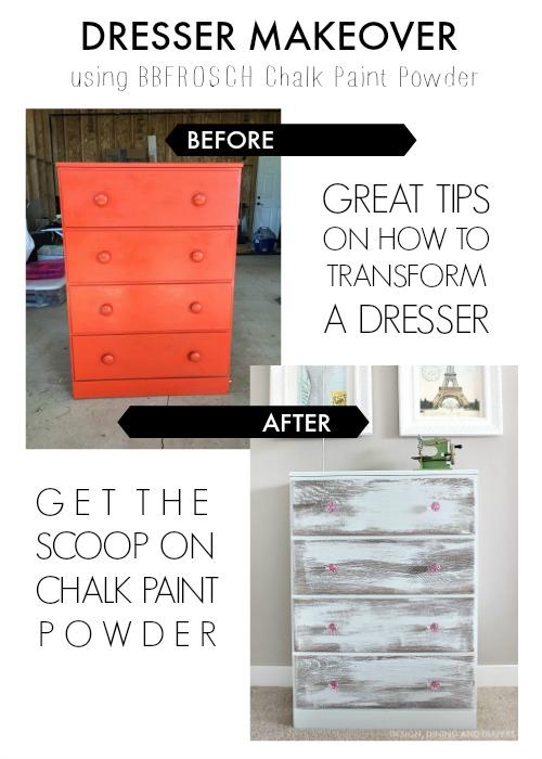 Adorable-Shabby-Chic-Dresser-Makeover-Using-BBFrosch-Chalk-Paint-Powder