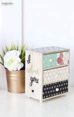 Personalized Mini Chest of Drawers