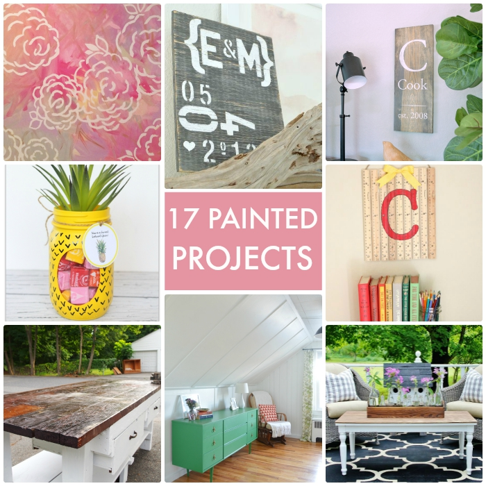 17 Painted Projects