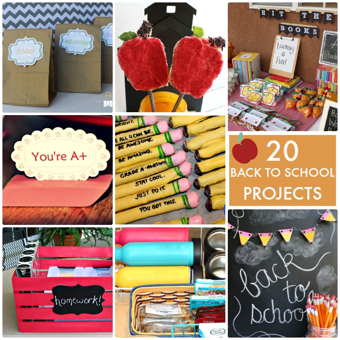 20 Back to School Projects