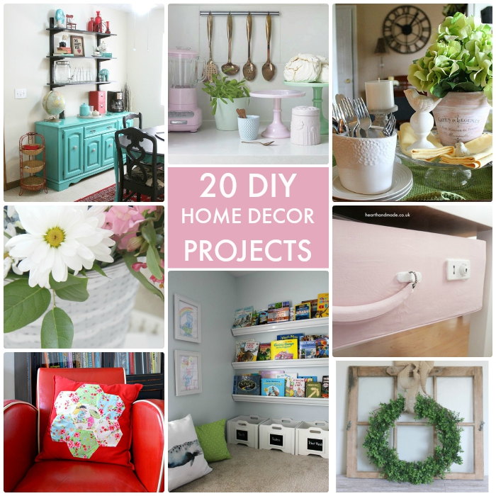 Great Home Decor Ideas: Great Ideas -- 20 DIY Home Decor Projects
