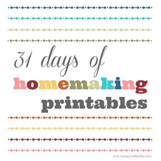 31-days-of-homemaking-printables