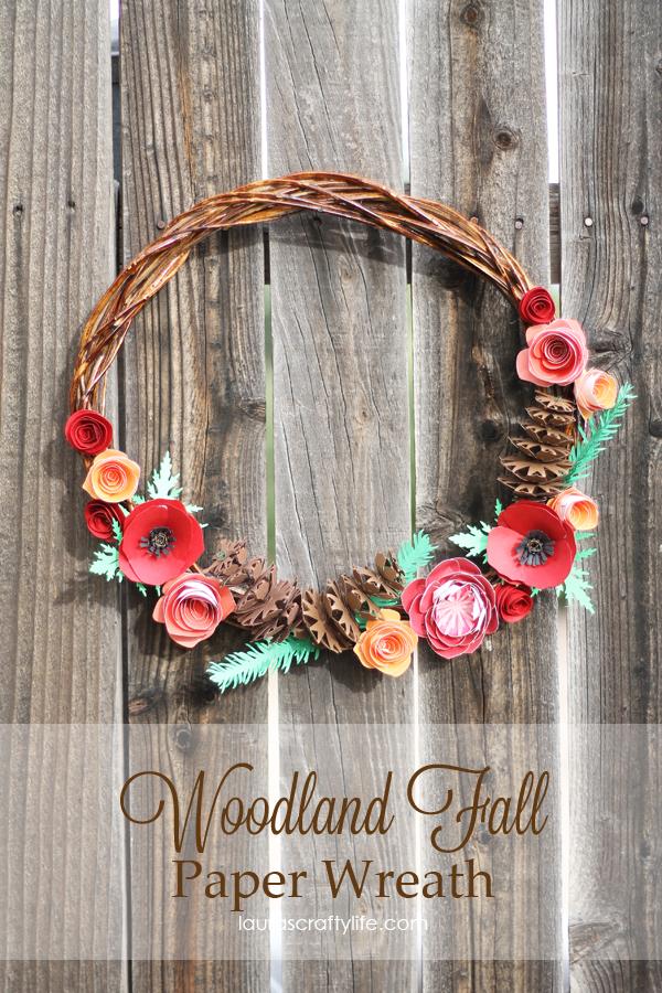 Woodland-Fall-Paper-Wreath-by-Lauras-Crafty-Life-CricutExplore-CricutDesignSpace