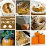 Great Ideas — 18 Pumpkin Projects!