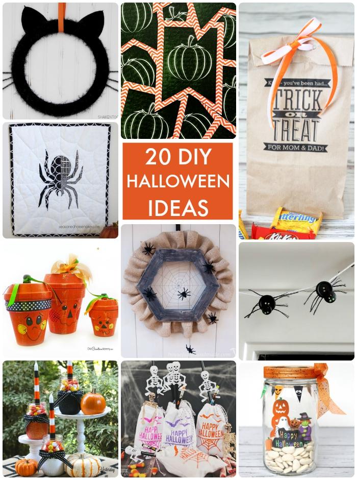 20 DIY Halloween Ideas