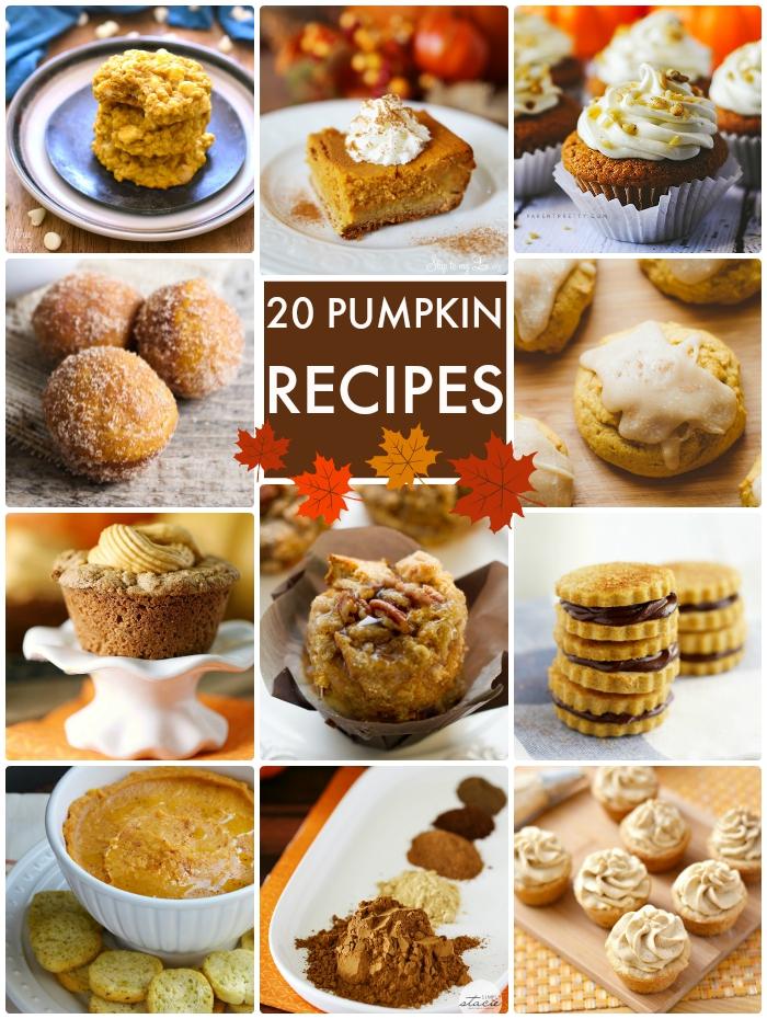 20 Pumpkin Recipes