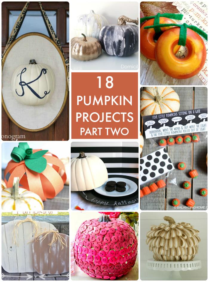 18 Pumpkin Projects Part 2
