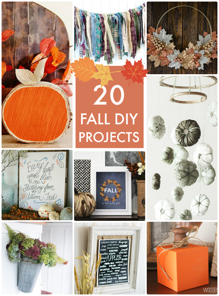 20 Fall DIY Projects