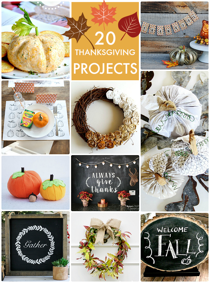 thanksgiving projects