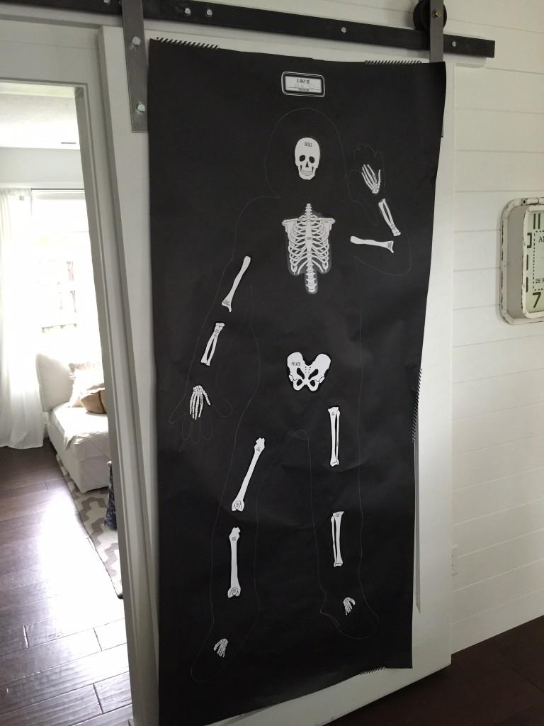 Halloween Skeleton Game