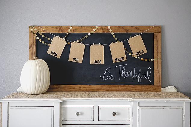 Be thankful board