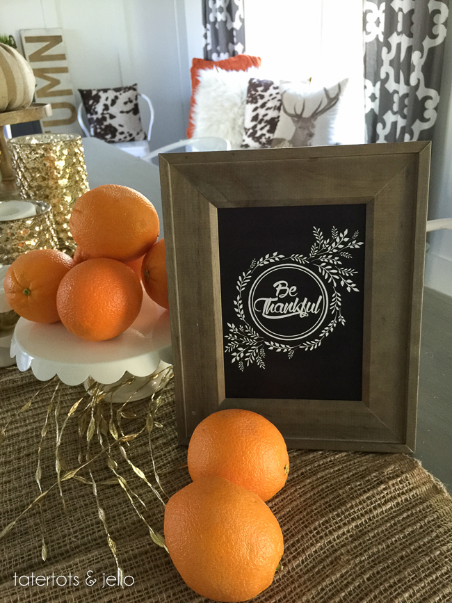 Thanksgiving, free printable, Thanksgiving tablescape