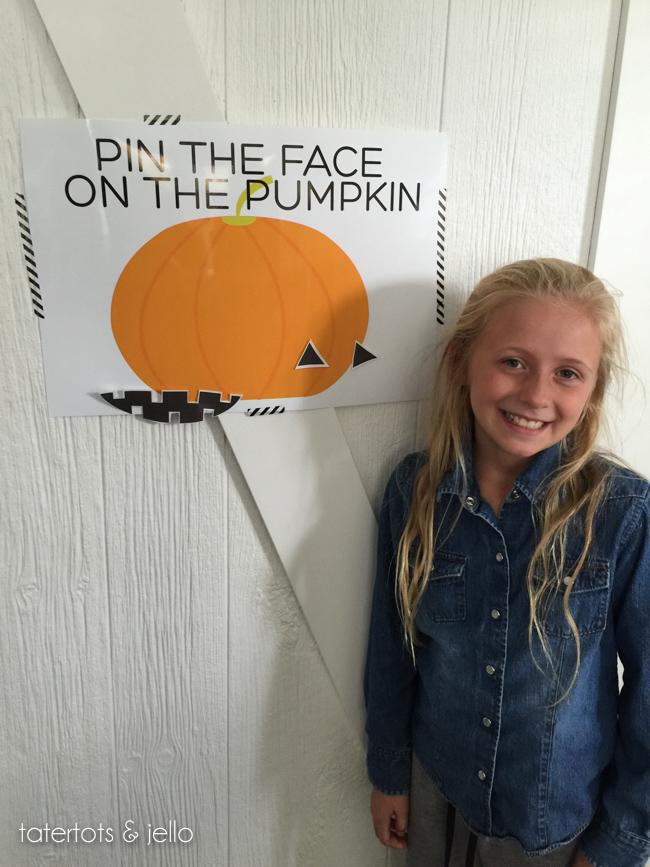 Halloween Pumpkin Party Game