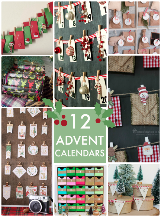 12 Advent Calendars