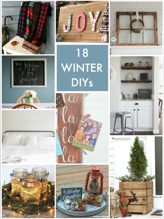 18 Winter DIYs