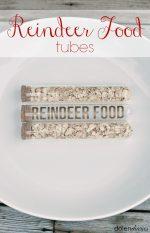 Happy Holidays: Reindeer Food Tubes
