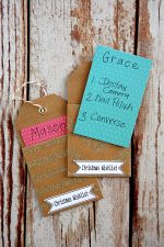 Christmas Wish List Ornaments with free printables!