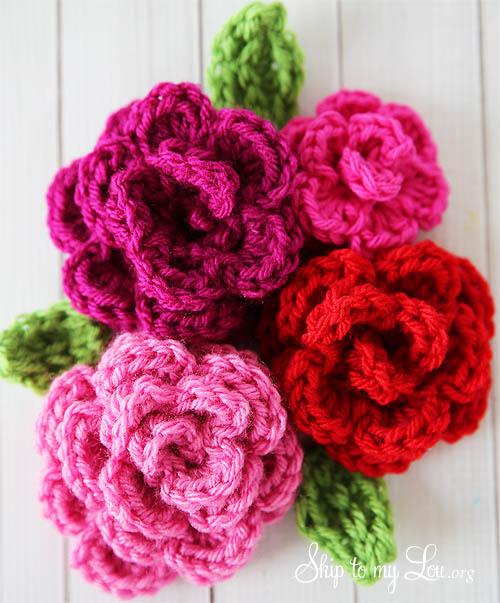 free-crochet-rose-pattern