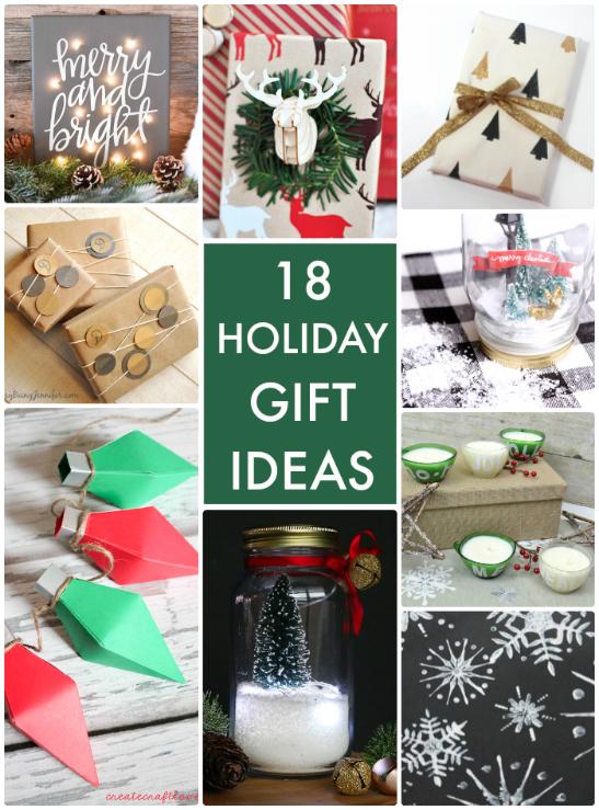 18 DIY HOliday Gifts to Make