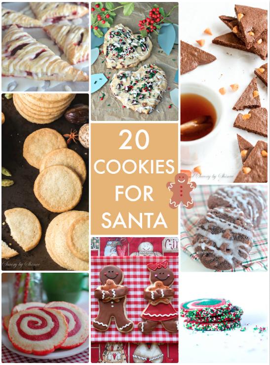 20 Cookies for Santa