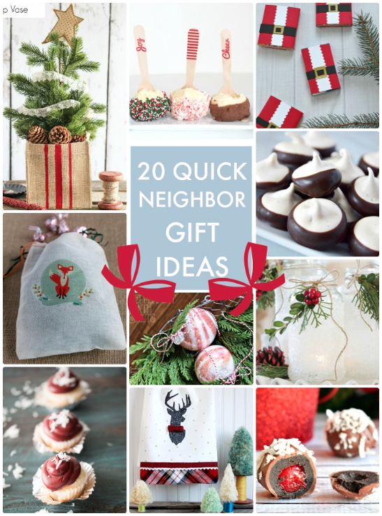 Great ideas 20 quick easy neighbor gift ideas for Quick easy gift ideas